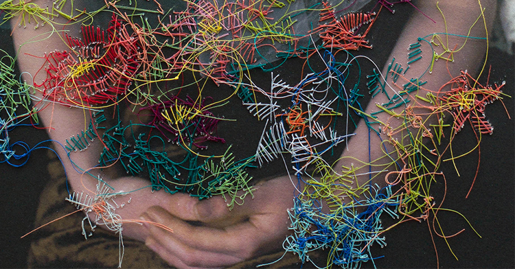 Melissa Zexter interview: Embroidered photography